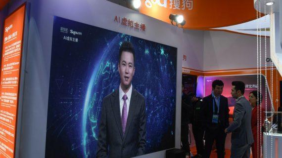 El primer presentador de noticias virtual debuta en China