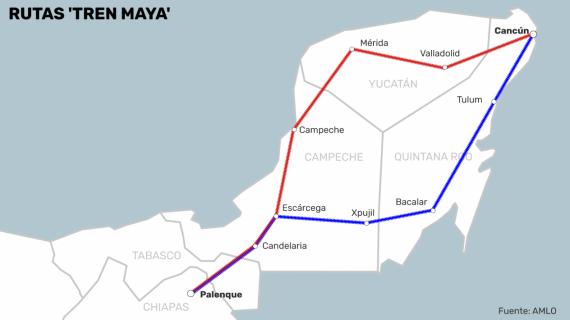 UNAM, INAH y COLMEX piden a AMLO no construir Tren Maya por impacto ambiental alarmante