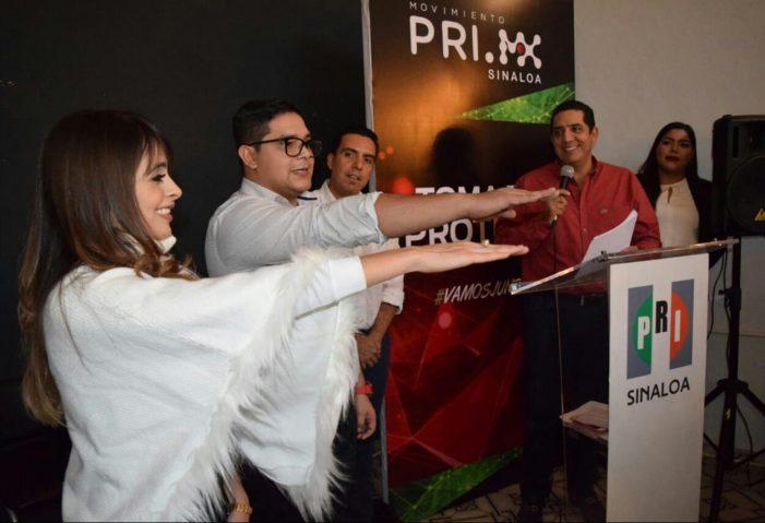 Le toma protesta Jesús Valdés a dirigencia de MovimientoPRI.MXSinaloa