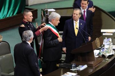 Andrés Manuel López Obrador ya es presidente de México