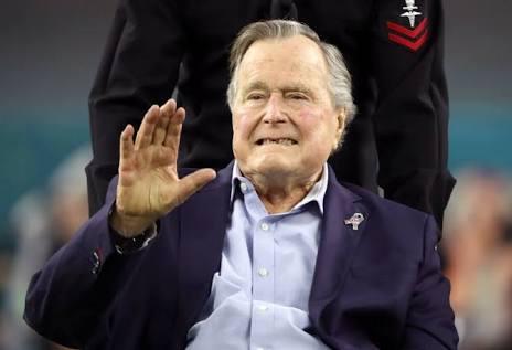 Muere George H.W. Bush padre, tenía 94 años