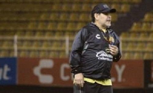 ¿Qué pide Maradona para renovar con Dorados de Sinaloa?