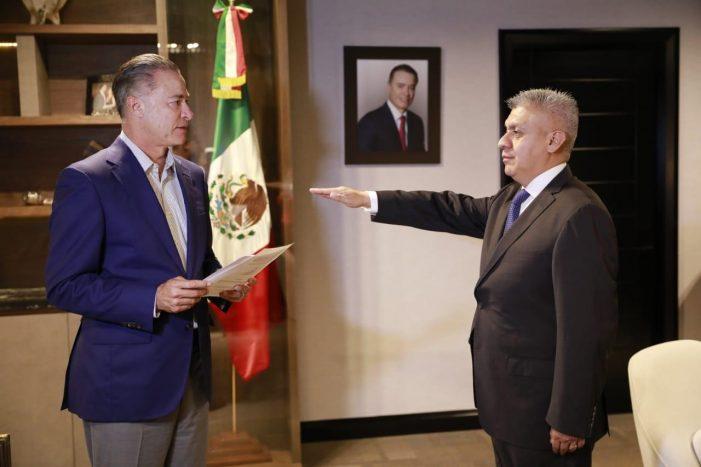 Cristóbal Castañeda Camarillo es el nuevo Secretario de Seguridad Pública en Sinaloa