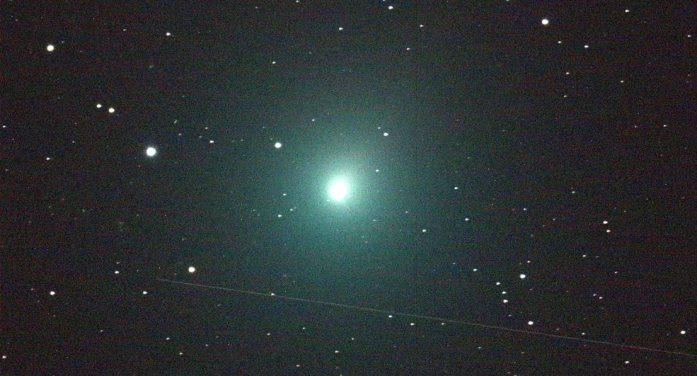 Prepárate para ver el cometa de luz verde