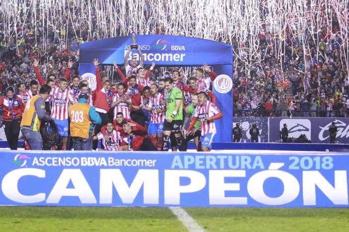 Atlético de San Luis se corona campeón del Apertura  de la liga Ascenso MX