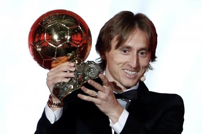 Luka Modric el mejor del mundo
