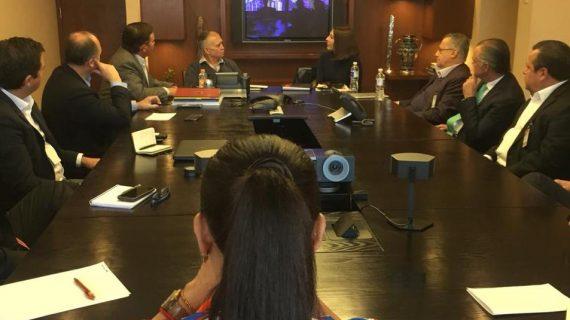 Empresarios queretanos se reúnen con jefe de la Oficina de la Presidencia