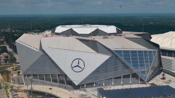 Dato del increíble estadio donde se jugará el Super Bowl LIII