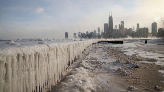 Chicago estará más frío que la Antártida