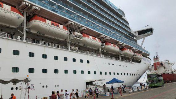 Arriban a Mazatlán dos cruceros con más de 9 mil visitantes