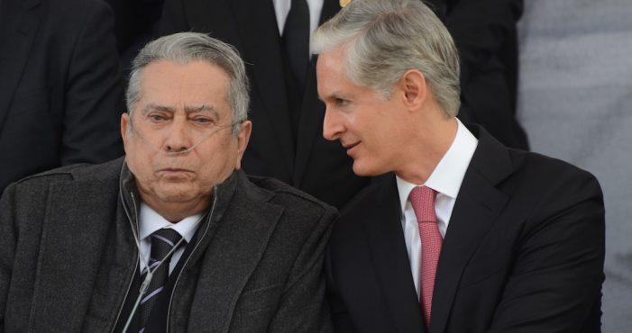 Muere Alfredo del Mazo, padre del gobernador mexiquense