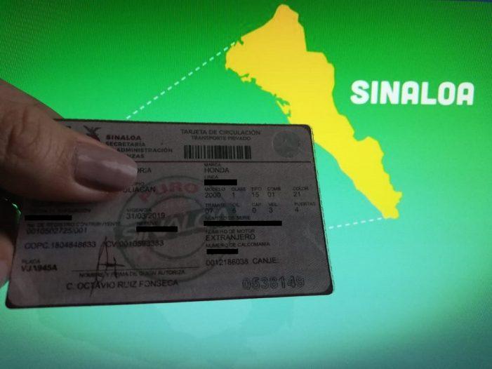 Habrá descuento de 55% en refrendo a vehículos de 10 años y anteriores en Sinaloa