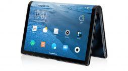 Conoce el smartphone con pantalla flexible