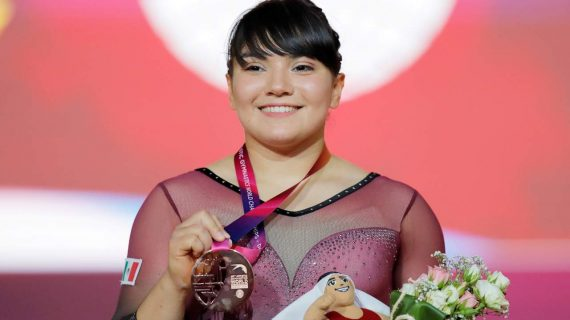 Alexa Moreno califica para ir a Tokio 2020