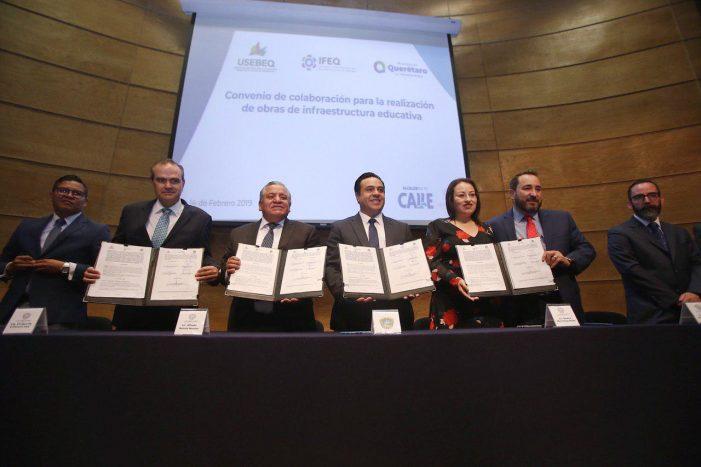 Municipio de Querétaro invertirá 43 mdp en infraestructura escolar