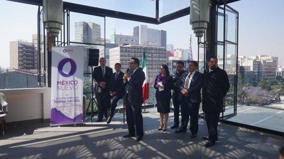 México Nuevo inicia el camino para constituirse como partido político