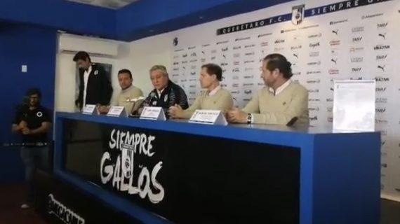 Vucetich regresa a la dirección técnica de Gallos Blancos