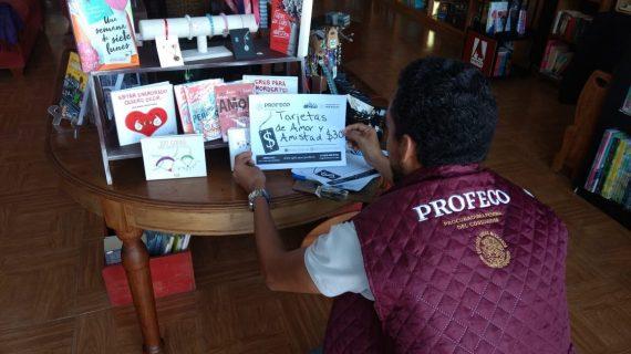 Más de 2 mil productos monitorea Profeco por San Valentín en Querétaro