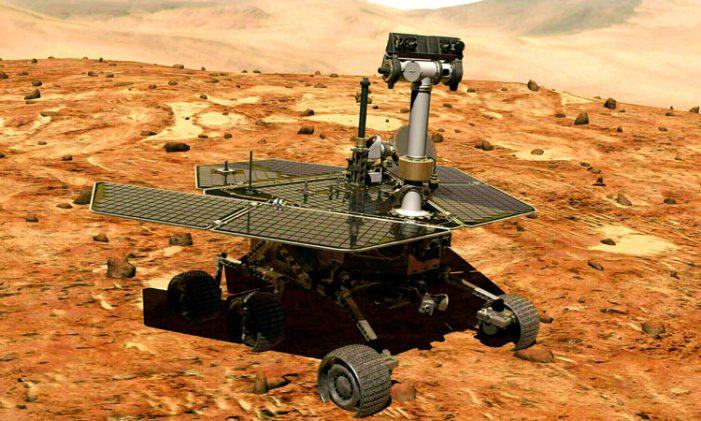 Se confirma la muerte del robot Opportunity en Marte