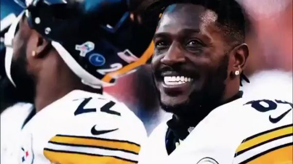 Antonio Brown se va de los Acereros de Pittsburgh