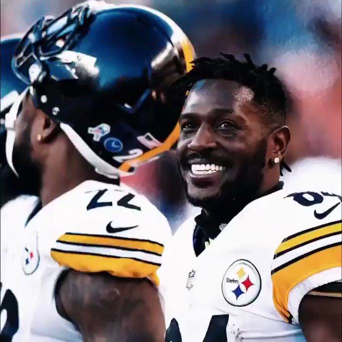 Antonio Brown se va de los Acereros de Pittsburgh