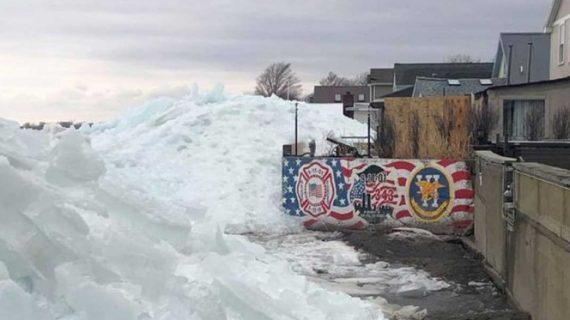 """""""Tsunami de hielo"""" golpea a Estados Unidos ¡Sorprendente!"""
