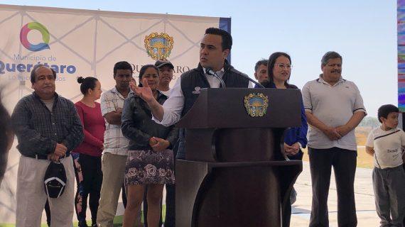CEA invertirá 29 mdp para dotar de agua potable a vecinos de Hacienda Santa Rosa