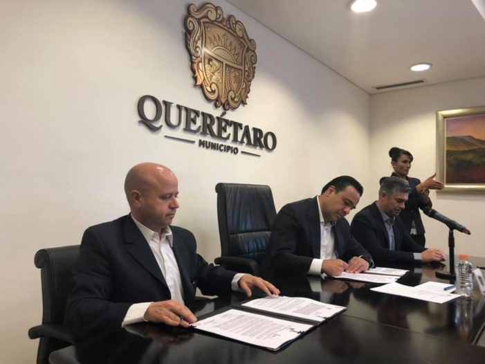 Municipio de Querétaro e Infoqro firman convenio para un gobierno abierto