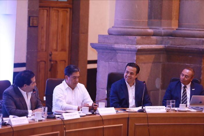 Luis Nava participó en reunión de trabajo de la Asociación Nacional de Alcaldes