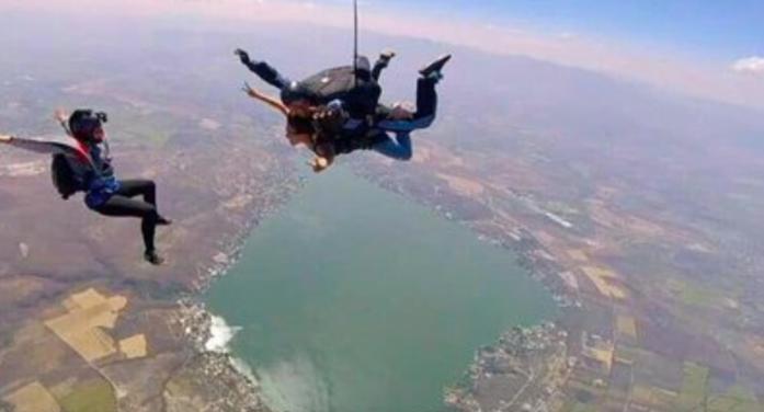 Una aventura en el aire termina en tragedia