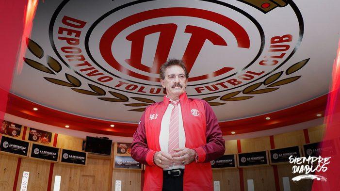 Ricardo La Volpe nuevo entrenador del Toluca