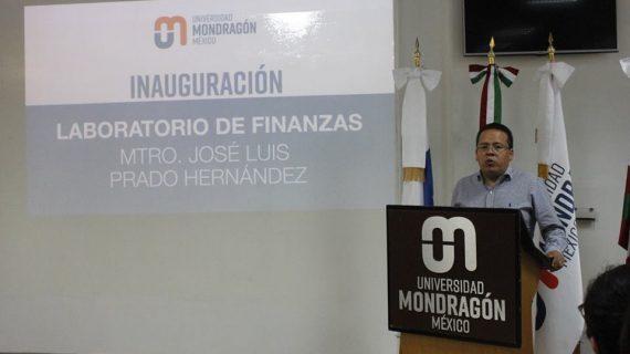 Universidad Mondragón inaugura Laboratorio de Finanzas