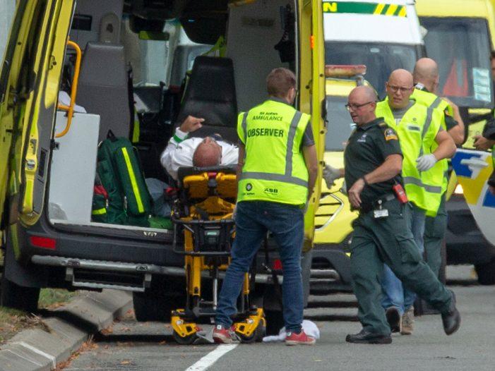 Un hombre transmitió en vivo la masacre que realizó en dos mezquitas en Nueva Zelanda