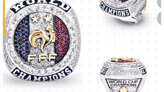 El anillo de regalo para la Selección Francesa de fútbol