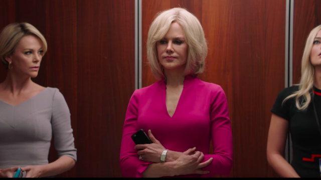 """Bombshell"" con Nicole Kidman, Charlize Theron y Margot Robbie"