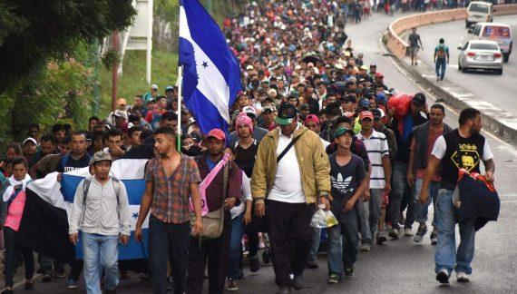 Ya viene a México la nueva caravana de migrantes centroamericanos