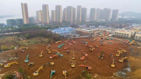 China construye hospital en 15 días