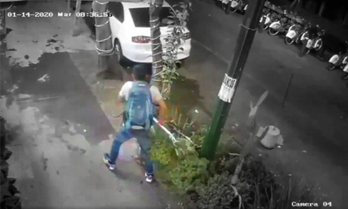 En solo 30 segundos roban bicicleta en la CDMX