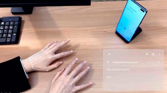 SelfieType el nuevo teclado invisible para smartphone