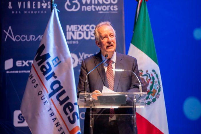 Enrique Vega inaugura primer Foro Empresarial El Marqués 2020