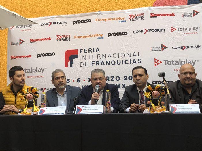Anuncia la Feria Internacional de Franquicias en la CDMX