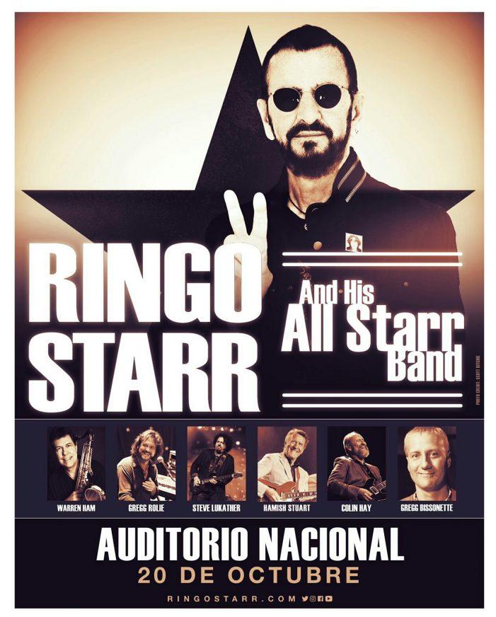 Ringo Starr vendrá a México ¡no te lo pierdas!