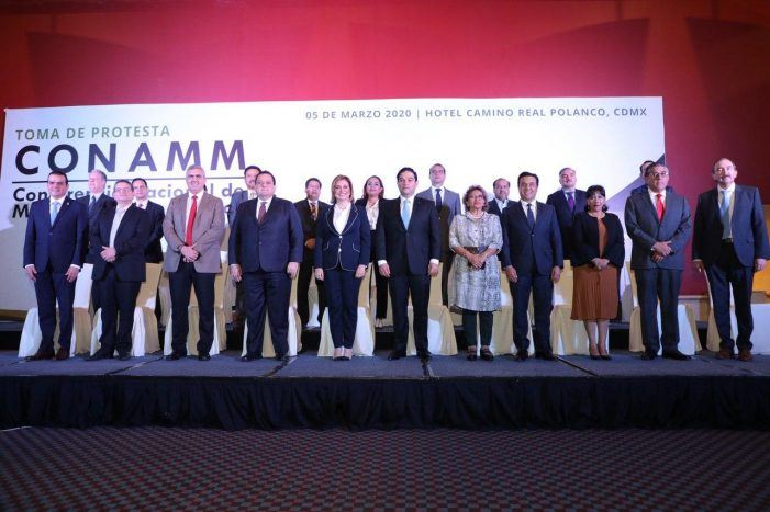 Rinde protesta Luis Nava como Vicepresidente de CONAMM