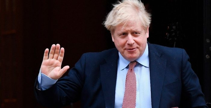 Primer ministro británico, Boris Johnson, tiene coronavirus