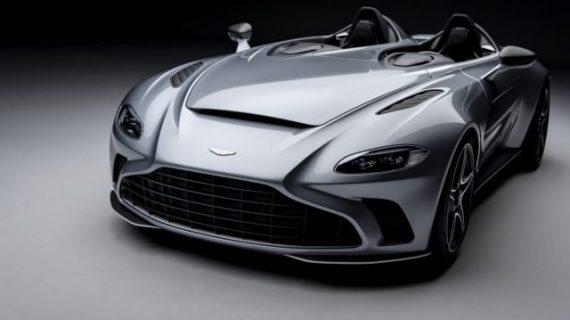 "Aston Martin presenta su ""V12 Speedster"""
