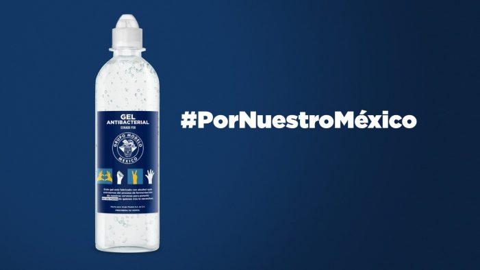 Grupo Modelo donará 300 mil botellas de gel antibacterial